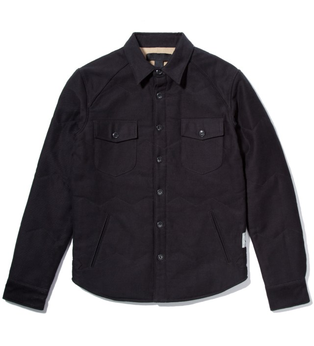 Black Walther Vendervvorld Thermal Shirt