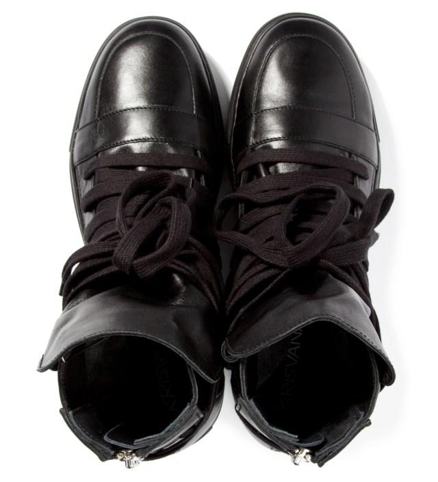 Black Multi Laces Sneakers