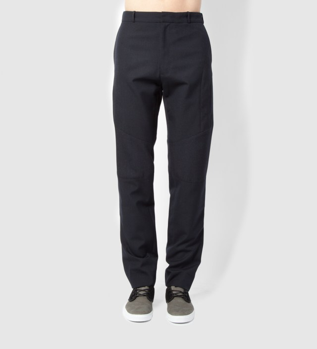 Navy Mix Enginered Trouser