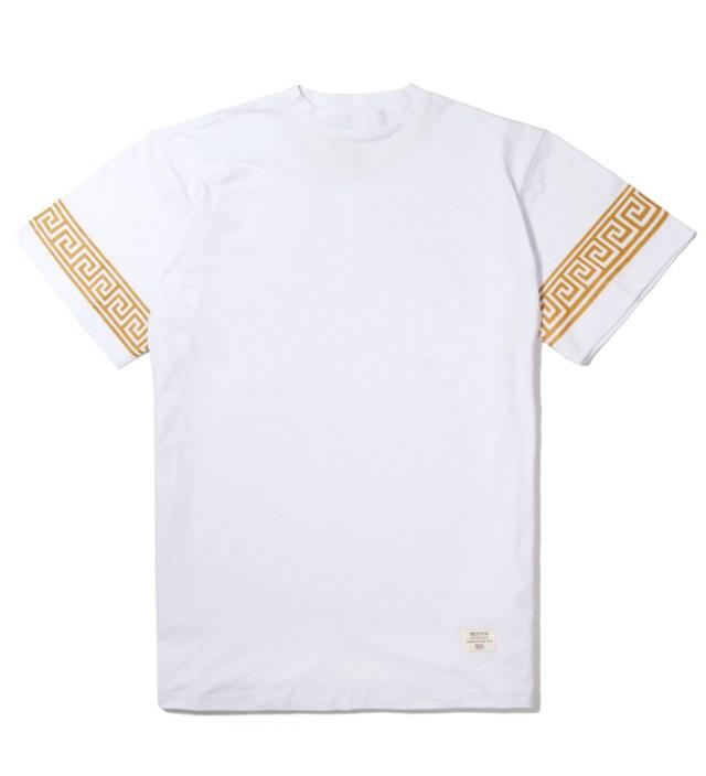 White/Gold Mr. Greek T-Shirt