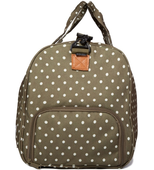 Olive Polka Dot Novel Bag Novel Bag