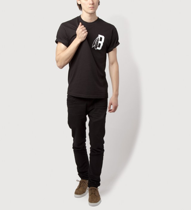 Black Feather B Logo T-Shirt