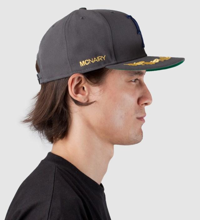 Grey New Amsterdam New Era Snapback Cap