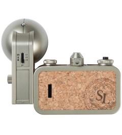 Lomography La Sardina Camera & Flash - Sparkling Model Picutre