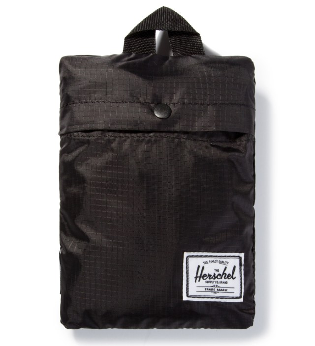 Black Packable Duffle Bag