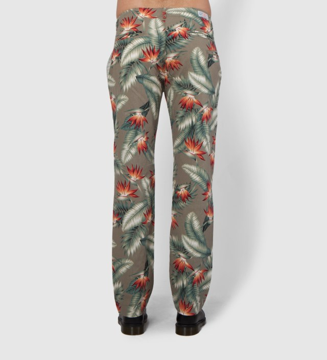 Floral Five Jet Chino Pant