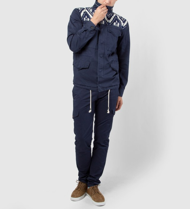 Navy Twill M65 Jacket