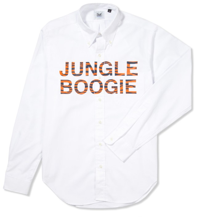 Jungle Boogie Printed Oxford