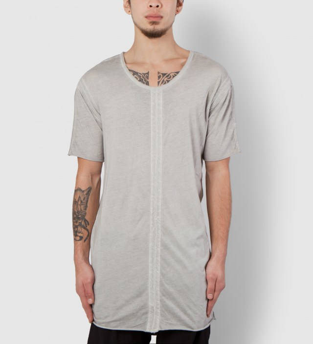 Grey Torp MNS Panelled T-Shirt