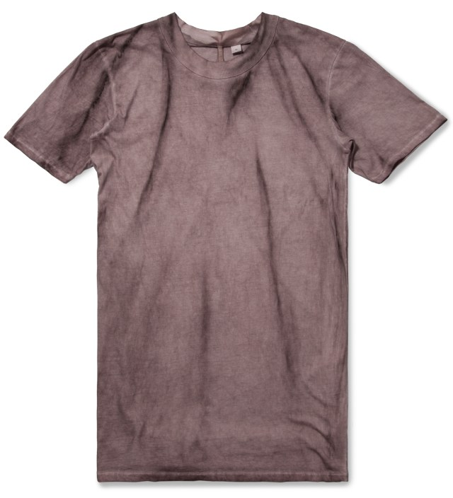 Purple Tumion MNS Basic Ovalneck T-Shirt