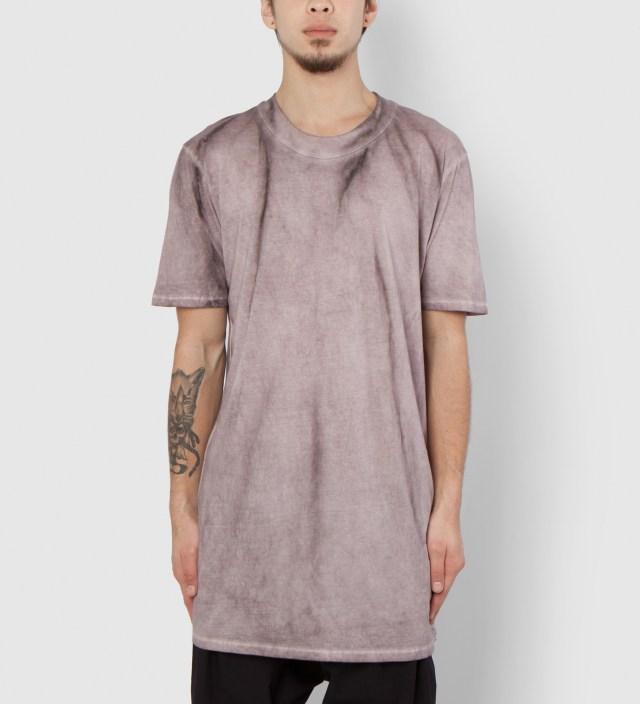 Purple Tumion MNS Basic Ovalneck T-Shirt