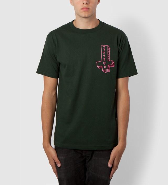 Hunter Green OFWGKTA It's Us Cross T-Shirt