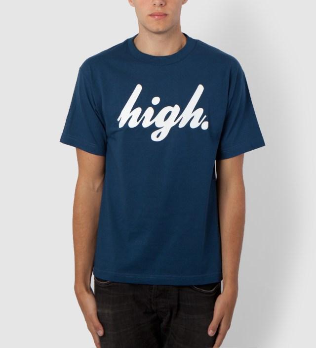 Blue/White Domo High T-Shirt