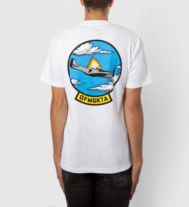 White Plane Crash T-Shirt