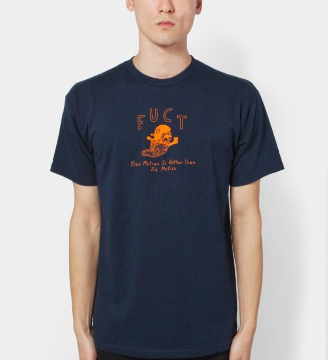 Navy Slow Motion T-Shirt
