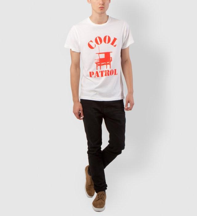 Foam White Cool Patrol T-Shirt