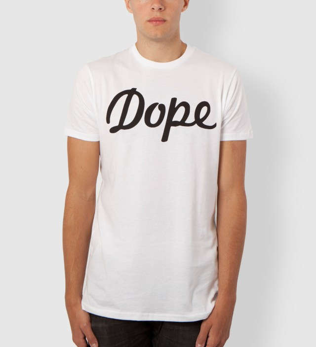 White Dope Logo T-Shirt