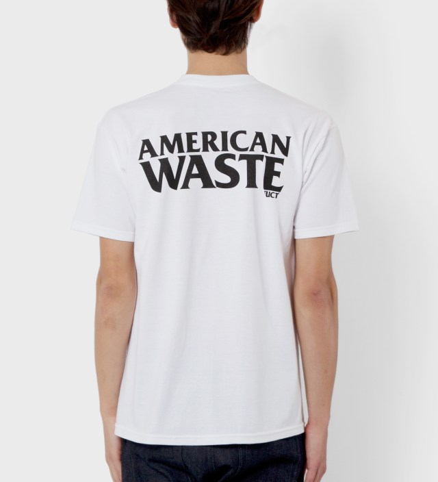 White American Waste T-Shirt