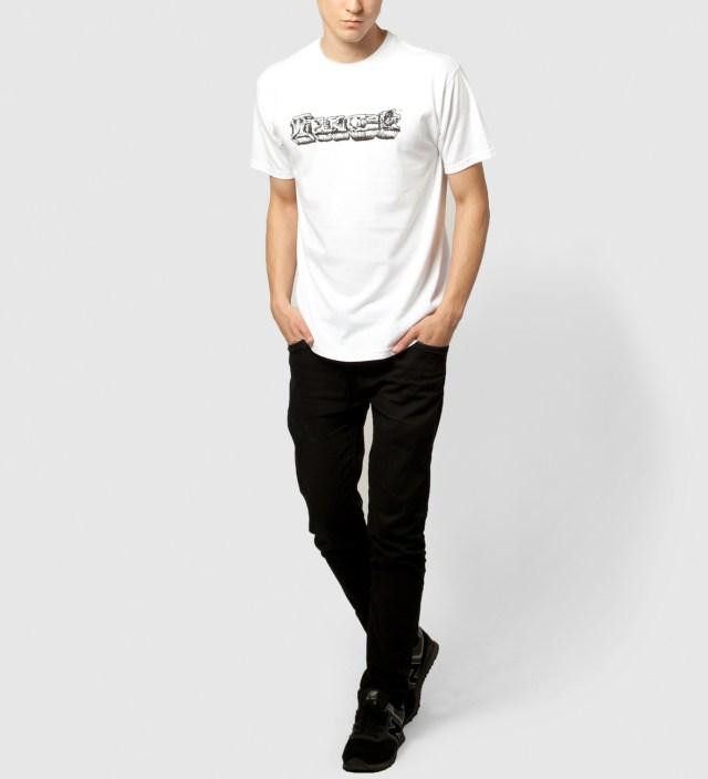 White OG Crackle Rock T-Shirt