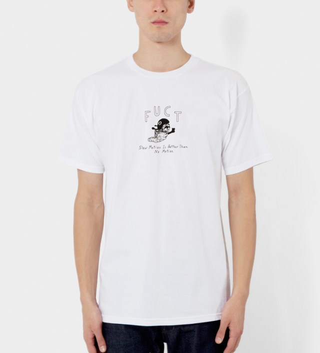 White Slow Motion T-Shirt