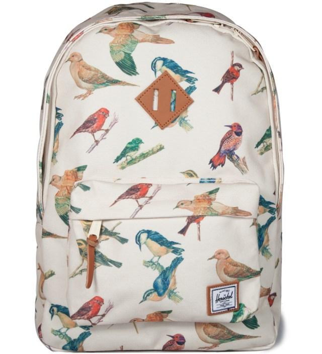 Bird Print Woodlands Backpack
