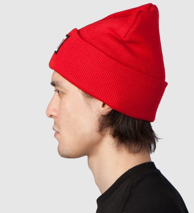Red FUCT Wars Patch Beanie