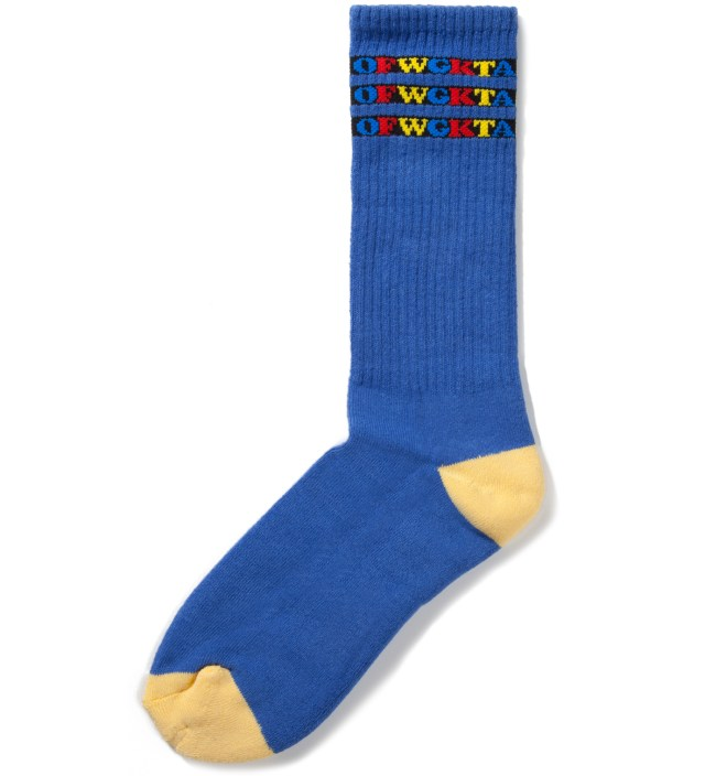 Blue OFWGKTA Gradient Socks