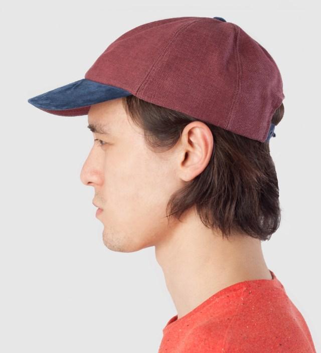 Brick/Navy Cap