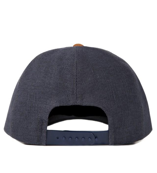 Navy/Camel Cap
