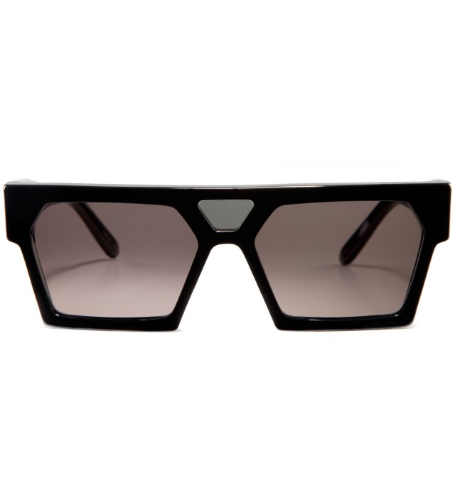 Luciano Black Sunglasses