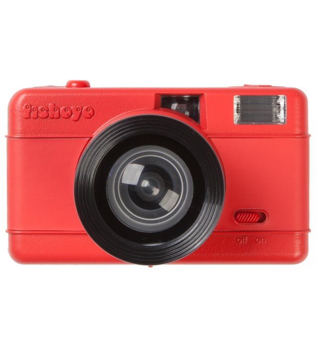 Fisheye Camera - Red