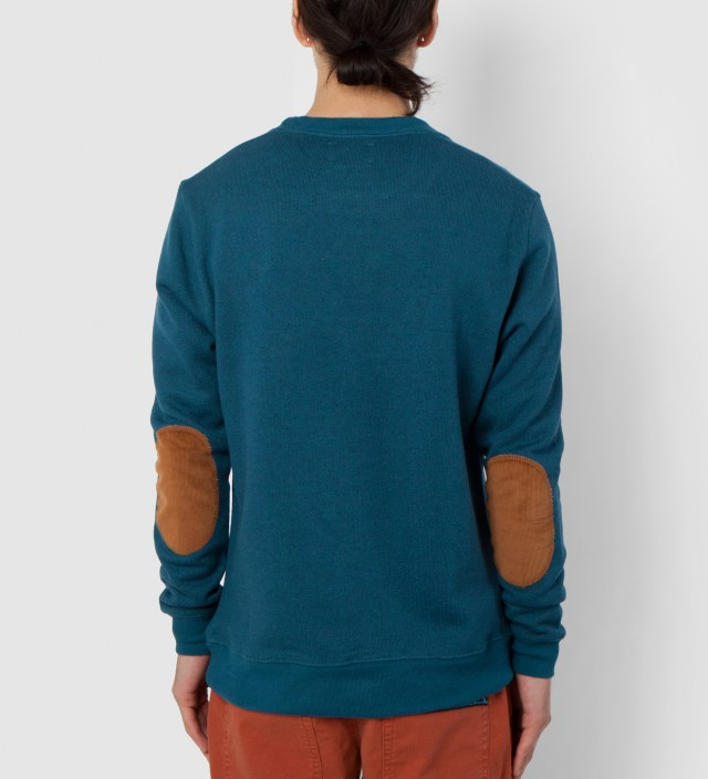 Petrole/Brown Brooklyn Parle Francis Sweater