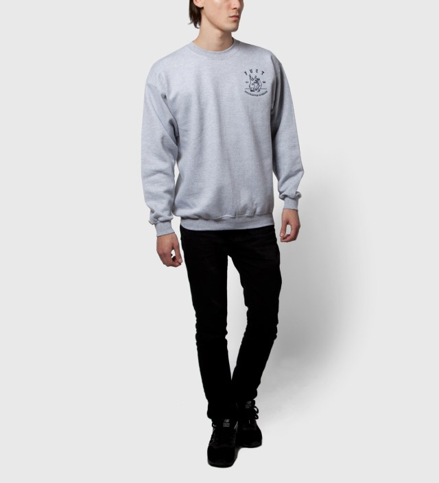 Grey Re-Distribution Crewneck