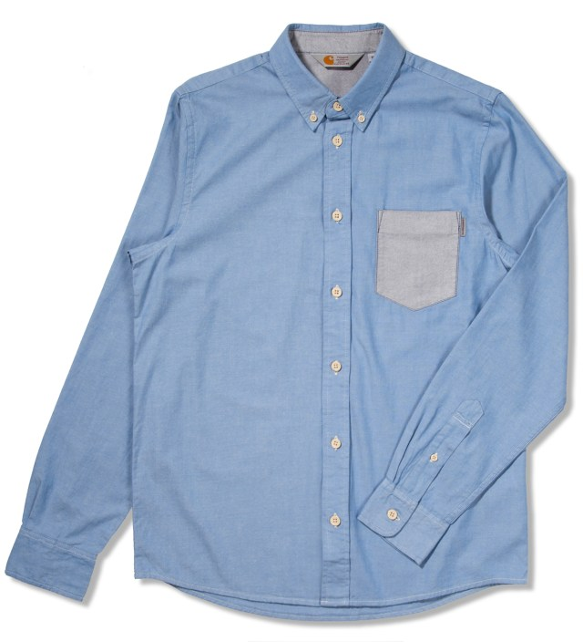 Key West/Blue Stone Washed Alfred Shirt