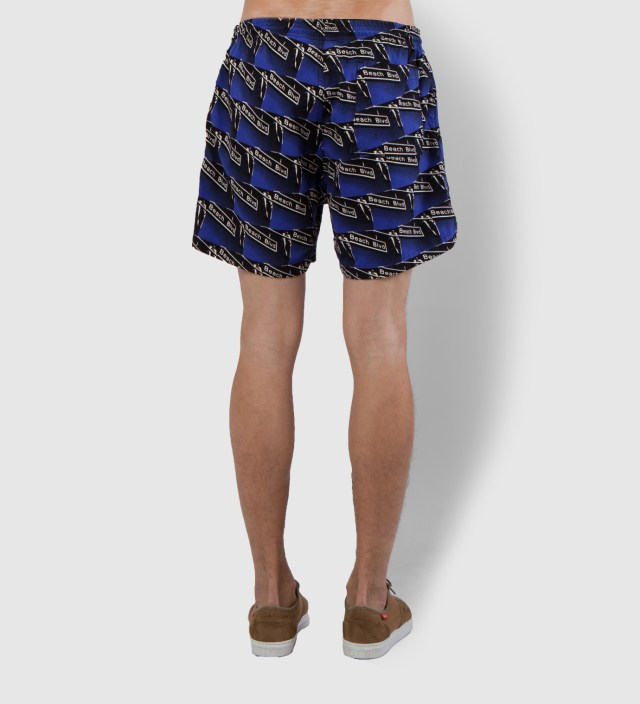 Blue Beach Blvd Shorts