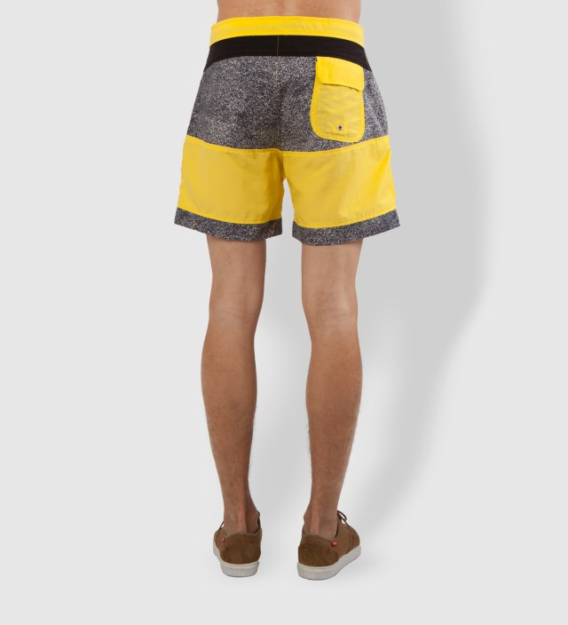 Yellowish Apricot Prism Shorts