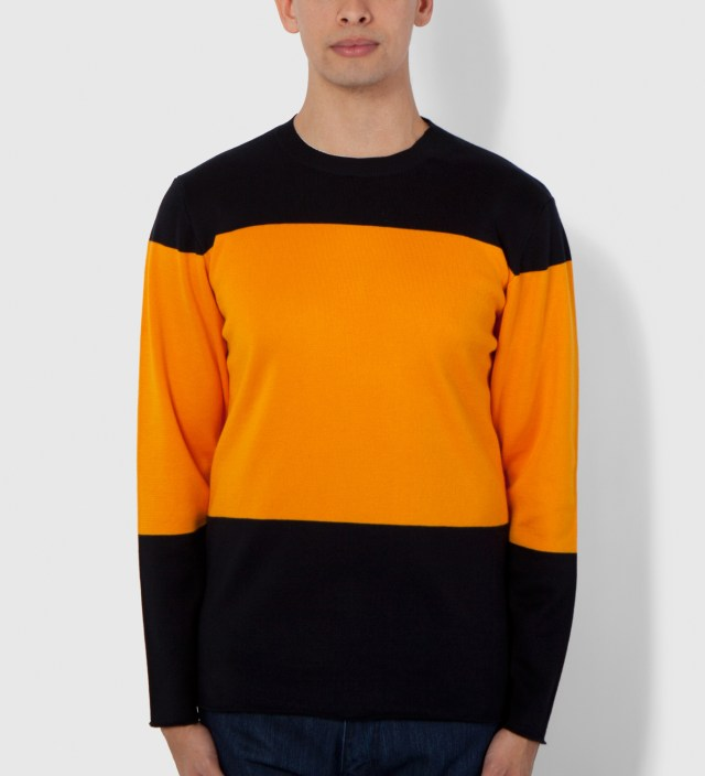 Navy/Yellow Marni Block 2 Sweater