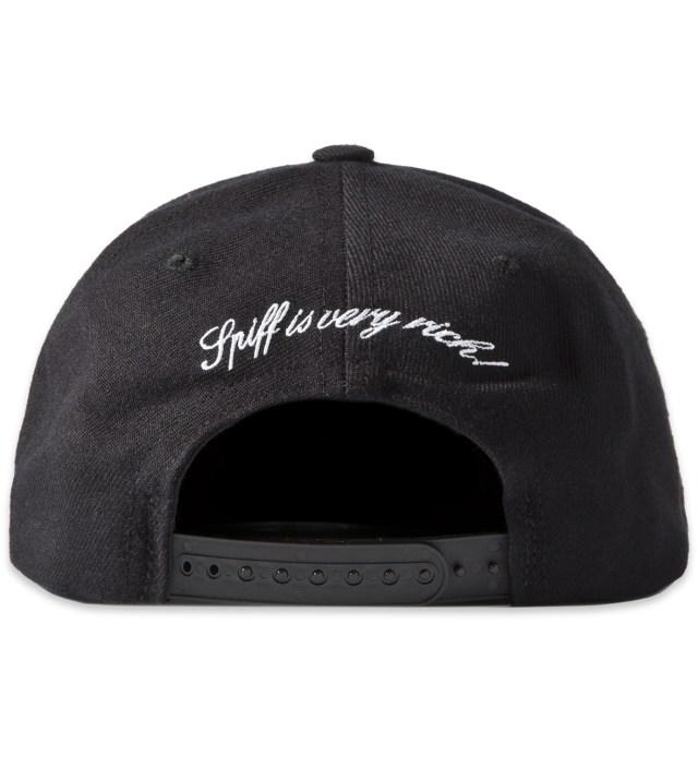 Black RICH Snapback Cap