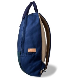 Buddy Navy Ear Tote Backpack Model Picture