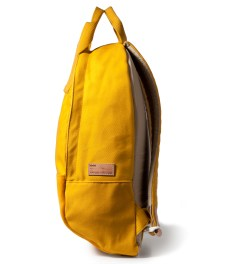 Buddy Mustard Ear Tote Backpack Model Picture