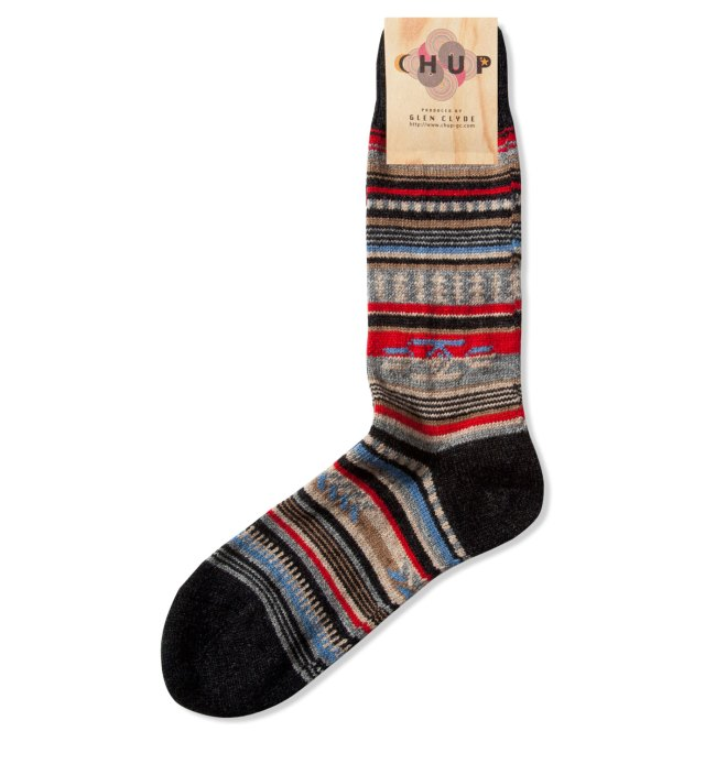 Charcoal Chinle Socks