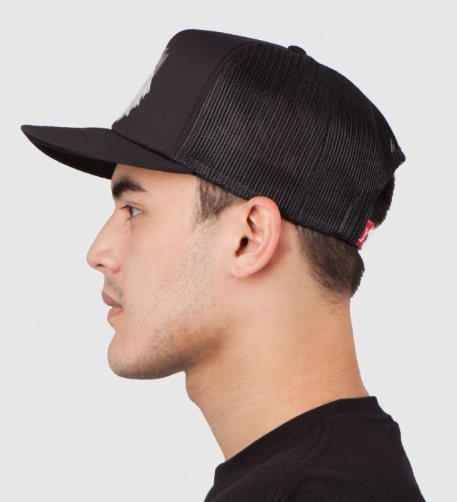 Black Animals Trucker Ballcap