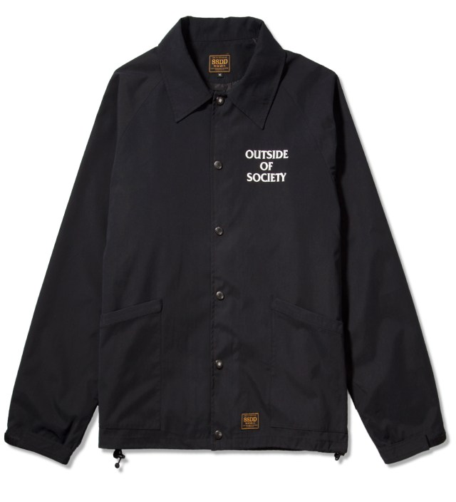 Black SSDD Outside Of Society Windbreaker