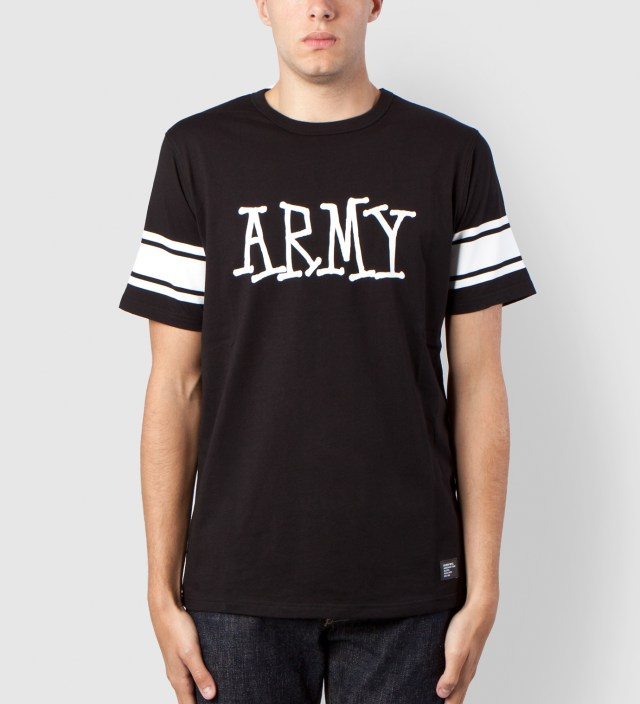 Black Army Crew Shirt
