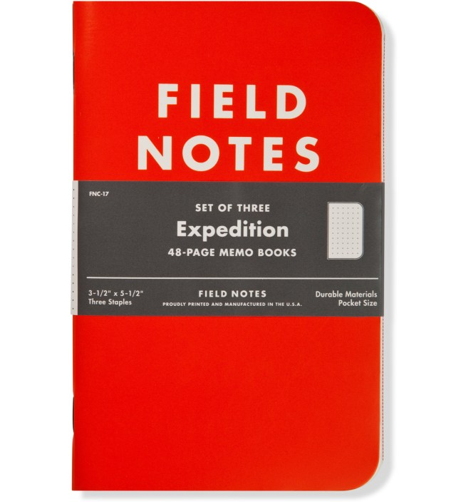 Expedition Field Notes Limited Edition #17
