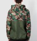 Military/Camo Ventura Ripstop Anorak Jacket