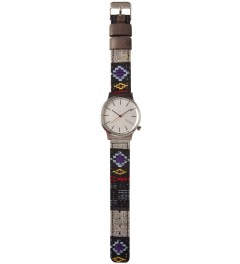 KOMONO Black Panamerica Wizard Watch Model Picture
