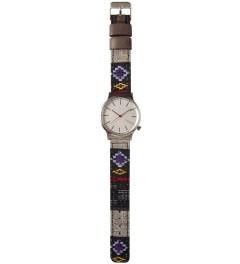 KOMONO Black Panamerica Wizard Watch Model Picutre