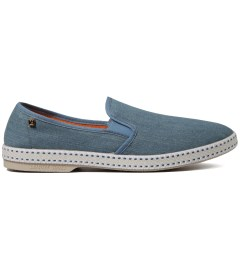 Rivieras Light Blue Jean Shoe Picutre