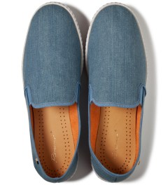 Rivieras Light Blue Jean Shoe Model Picutre